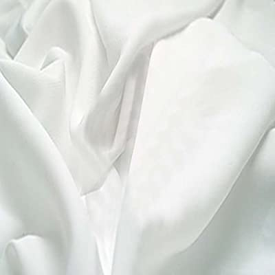 Crafty Cuts 2-Yards Cotton Fabric, White Solid by CRAFTY CUTS
