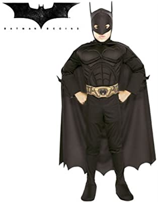 All NEW Deluxe MUSCLE CHEST Officially Licensed Batman Begins Costume | Educational Toys