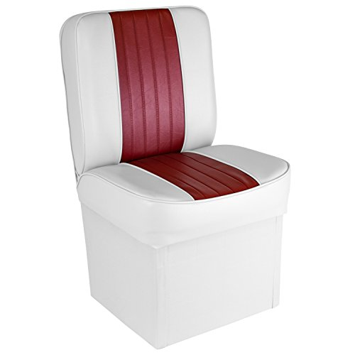 (Wise 8WD1414P-925 Deluxe Universal Jump Seat (White/Red))