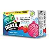 Drazil Kids Tea, Yummy Berry, 6.75 Ounce Boxes (Pack of 8), Individually Packaged Juice-Box Style Iced Herbal Tea Infused with Fruit Juices, Caffeine-Free Gluten-Free, No Added Sugar