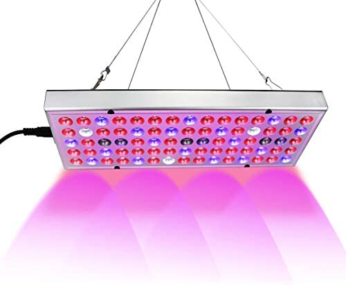 Grow Lights for Indoor Plants,25W Full Spectrum LED Plant Grow Lamp with UV IR Light Bulb for Seedlings Succulents Flowers Small Plants