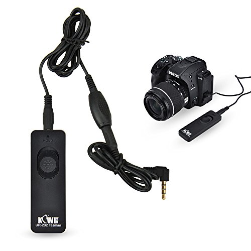 Kiwifotos RS-60E3 Remote Switch Shutter Release Cord for Canon EOS Rebel T6 T7 T5 T3 T3i T4i T5i T6i T6s T7i SL3 SL2 SL1,EOS 80D 70D 77D 60D,EOS RP R M6 M5 and Other Cameras with Sub Mini Connection