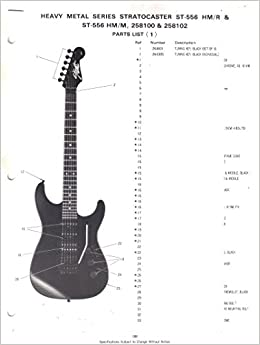 fender heavy metal series stratocaster st hm r st hm m fender heavy metal series stratocaster st 556 hm r st 556 hm m 258100 258102 parts list wiring diagram fender electronics sunn com books