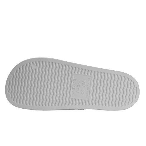 Equick Premium Kvinner Og Menn Bad Tøffelen Anti-slip For Innendørs Hjem Huset Sandal 01gray