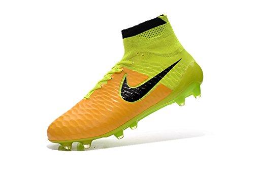 ... demonry Schuhe Herren Magista obra fg mit ACC gelb Fußball Fußball  Stiefel ...