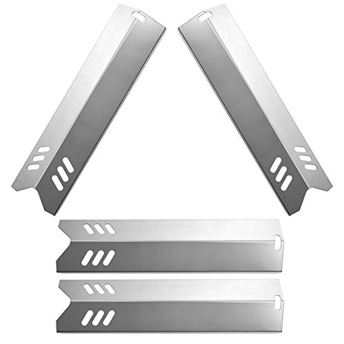 GASPRO 4-Pack Grill Heat Shield for Backyard Grill Replacement Parts, 15 x 3 - GASPRO 4-Pack Grill Heat Shield For Backyard Grill Replacement Parts