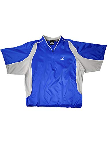 Mizuno Baseball Jersey - Mizuno Protect Batting Jersey, Royal, XX-Large