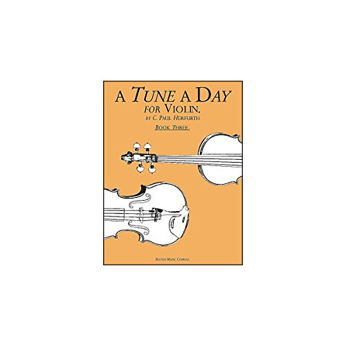A Tune A Day for Violin - Book 3 from Music Sales