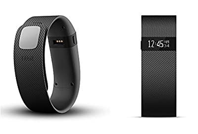 FitBit Charge Wireless Activity + Sleep Tracker Wristband (Large) - Black