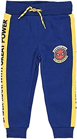 Marvel HS1053 Spiderman - Pantalones de chándal para niño (Talla 3-8 años): Amazon.es: Ropa y accesorios