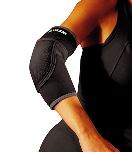 (Vulkan Padded Elbow Support, Small, Extra Padded Elbow Support Brace Sleeve, Protection for Athletic Events, Sports, and Recreational Activities, Elbow Guard Cushions Accidental Falls and Injuries )