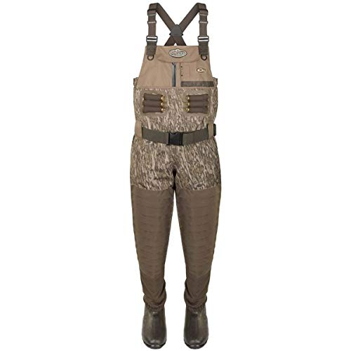 Drake Guardian Elite Insulated Breathable Chest Waders, Color: Mossy Oak Bottomland, Size: Size 13 - King (DF1130-006-13)