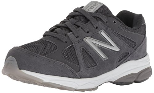 New Balance Boys' 888v1 Running Shoe, Magnet, 3.5 M US Big Kid