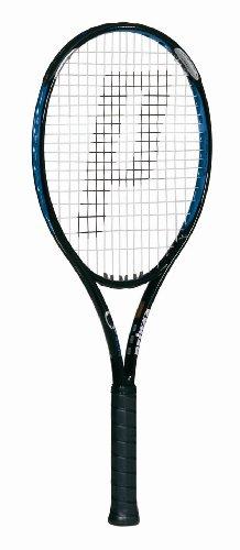 Prince O3 Blue OS Prestrung Tennis Racquet (4 1/8)