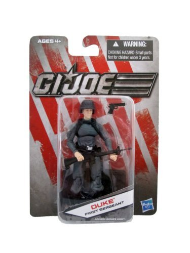 G.I. Joe Exclusive Action Figure, Duke First Sergeant, Gray Outfit -