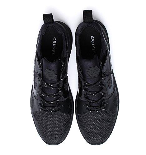 Cruyff Classics Black Futura Trainers-UK 12