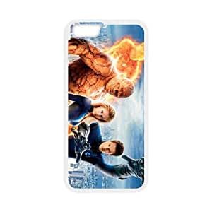 Fantastic Four iPhone 6 Plus 5.5 Inch Cell Phone Case White Phone cover F7615588