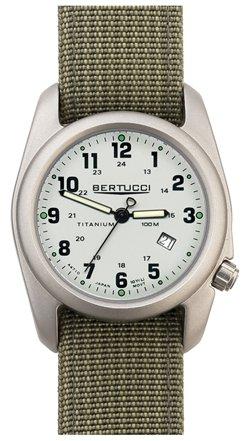 Bertucci Men's 12703 A-2T Original Classics Durable Titanium Field Watch (Titanium Watch Field)