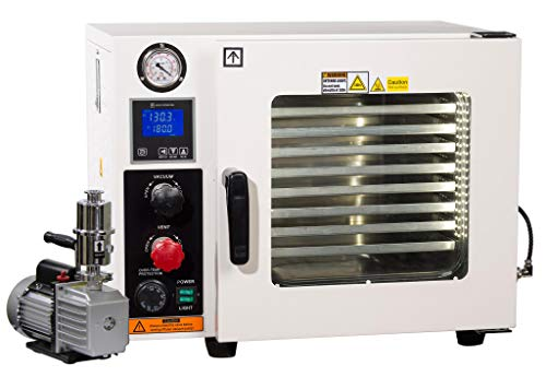 Across International AT09p7.110 Ai Vacuum Oven with 7 CFM Pump, 5...