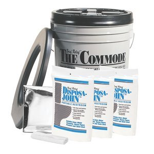 Utility Porta-Quick Brief ReliefCommode Kit