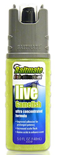 Saltwater Gamefish - Baitmate Live Gamefish Scent Fish Attractant, 5 Fluid-Ounce