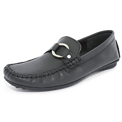 Toscania e61tosc002 noir - Chaussures Mocassins Femme