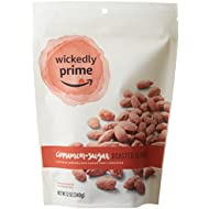 Wickedly Prime Roasted Almonds, Cinnamon-Sugar, 12 Ounce