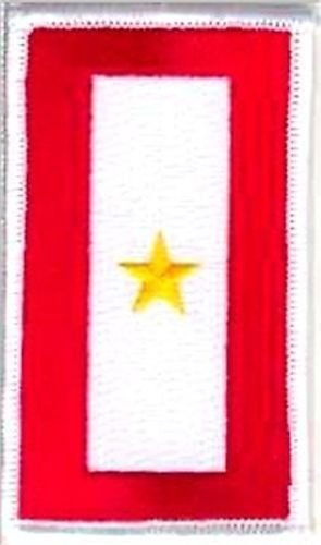 GOLD STAR Service Flag Army Navy Airforce VET USMC Military Biker PATCH PAT-3605