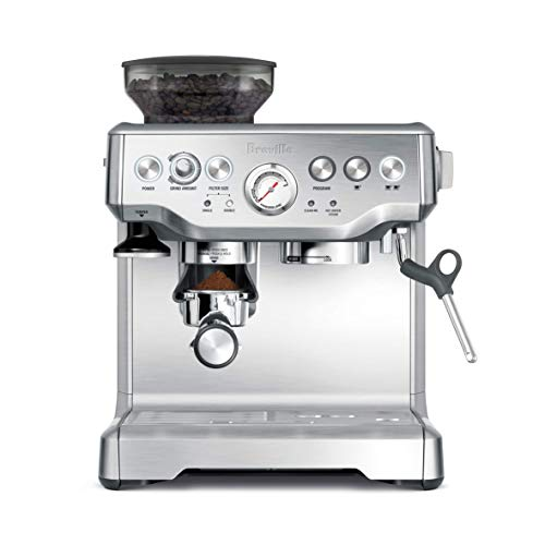 Breville BES870XL Barista Express Espresso Machine (Renewed)