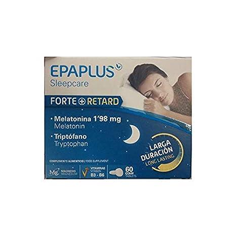 Peroxfarma EPAPLUS MELATONINA FORTE RETARD 60 COMPRIMIDOS: Amazon.es: Salud y cuidado personal