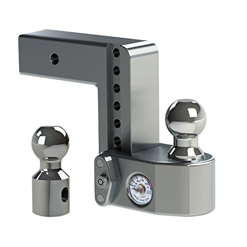 Weigh Safe WS6-2.5 Adjustable Ball Mount with 6'' drop and 2.5'' Shank by Weigh Safe