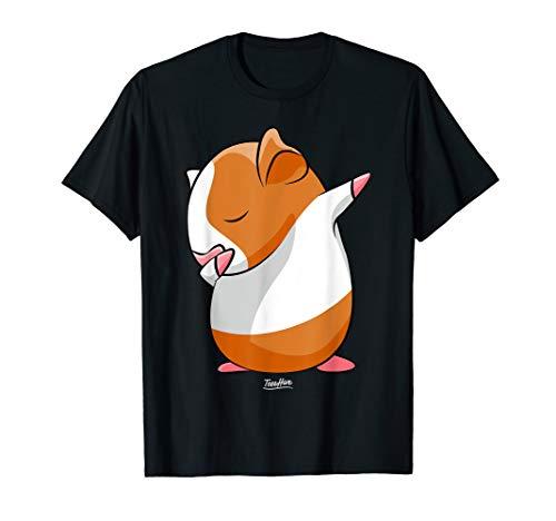 Dabbing Guinea Pig Face Funny Guinea Pig Lover Shirt ()