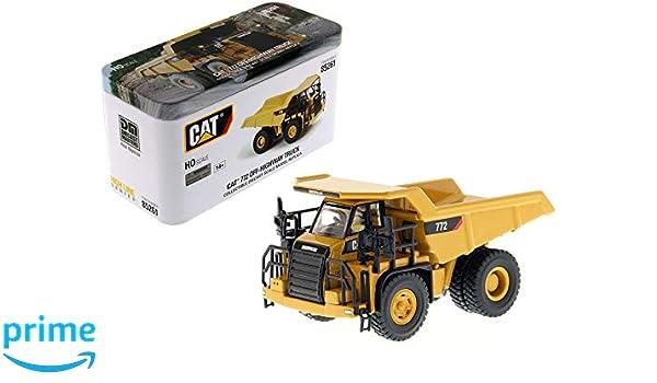 1//87 CAT 772 Diecast Engineering Off-Highway Car Truck Vehicles Model 85261