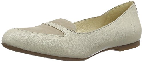 Fly London Damen Maya902fly Peep-toe Grau (beton / Beton 006)