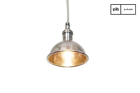 Plafoniere Da Soffitto Vintage : Pib lampade da soffitto plafoniera argentata in stile vintage