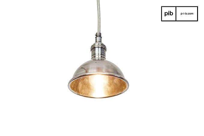 Plafoniere Vintage Da Soffitto : Pib lampade da soffitto plafoniera argentata in stile vintage