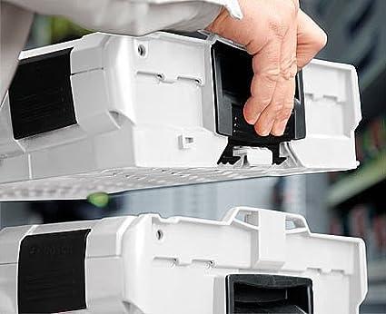 L Box 102 Gris Incl Caja de Surtido Pl/ástico Plegable Surtido Tornillos Deckenpolster Ideal Herramientas Vac/ío Insetboxenset H3