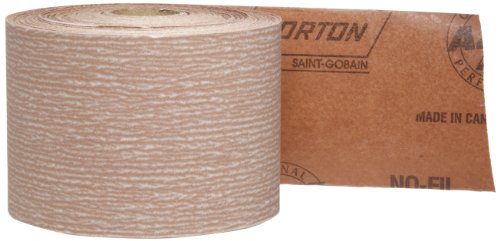 Norton A275 No-Fil Adalox Abrasive Roll, Paper Backing, Pressure Sensitive Adhesive, Aluminum Oxide, Waterproof, Roll 2-3/4'' Width x 45yd Length, Grit 600 (Pack of 1) by Norton Abrasives - St. Gobain