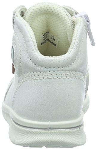 Ecco First, Chaussures Marche Mixte Bébé, Blanc (1007White), 19 EU