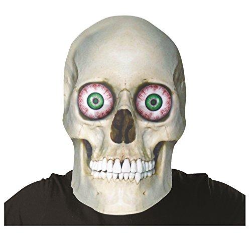 Bobble Hedz Giant Skeleton Skull Mask