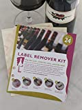 Wine Label Remover Kit - 24 Pack - Wine Label Removers