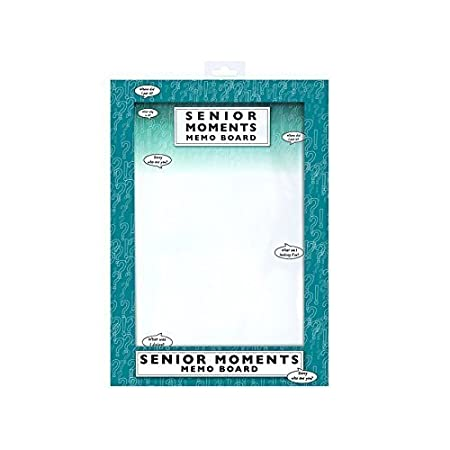 Memo BoardWhiteboardNotice Board  Senior Moments AmazonCoUk