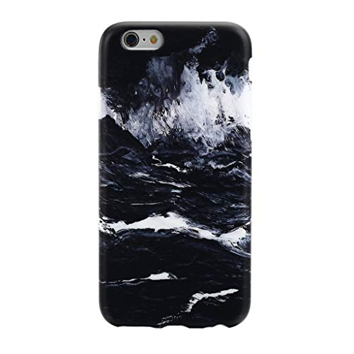 GOLINK iPhone 6/6S Case Oil Painting Series Slim-Fit Ultra-Thin Anti-Scratch Shock Proof Dust Proof Anti-Finger Print TPU Case for iPhone 6/6S (4.7 inch) - Oil Painting Dark Sea