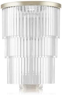 【Bath&Body Works/バス&ボディワークス】 ルームフレグランス プラグインスターター (本体のみ) シャンデリアナイトライト Wallflowers Fragrance Chandelier Night Light [並行輸入品]