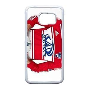 Advocare funda de plástico Samsung Galaxy S6 Edge caja del teléfono celular funda funda caja del teléfono celular blanco cubren ALILIZHIA11065