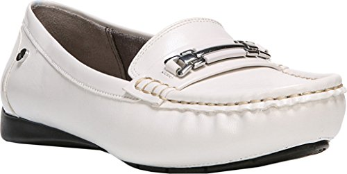 Lifestride Womens Vanity Slip-on Mocassin Blanc Sable Pu