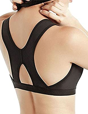 Camellias Womens Post-Surgery Front Closure Brassiere Sports Bra