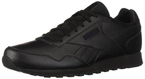 Reebok Men's Classic Leather Harman Run Sneaker, Black, 11.5 M US