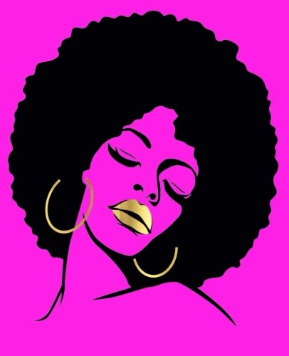 "Search : Black Girl Magic: Afro Fuchsia 2019 Calendar Daily Planner To Do List Organizer Book 7.5"" x 9.25"" Medium Size Business School Teacher Student Mom"