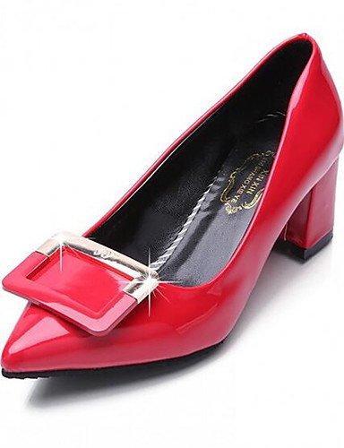 quadrata 36 fibbia Scarpe Punta PU dito EU inclina donne ZQ della di Comfort piede della Los del delle Scarpe di se matrimonio S14q0